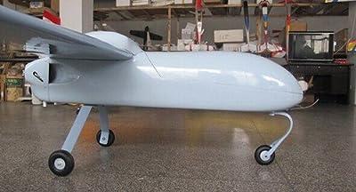 Gowe Aircraft FPV Radio Remote Control Mugin 3m UAV V3 Tail Platform RC Airplane Model Plane DIY carbon fiber V 3 tail without engine