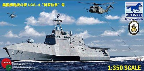 Unbekannt Bronco Models NB5026 - Modellbausatz USS Coronado, LCS-4