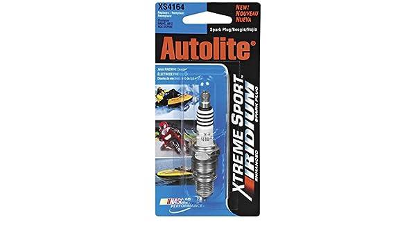 Amazon.com: Xtreme Sport Iridium Spark Plug - XS65 - 14mm Thread, Manufacturer: Autolite, AUTOLITE SPK PLUG XS65 BX/4: Automotive