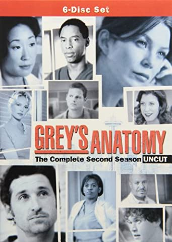 Grey's Anatomy: Season 2 (Uncut) (Greys Anatomy Dvd Seasons)