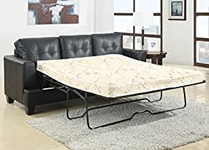 Coaster Home Furnishings Contemporary Sleeper, Black