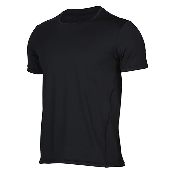 eee64f63258a Amazon.com  Men s Summer Outdoor Sports T-Shirts Cotton Breathable Short  Sleeve Round Neck Running T-Shirt Sleeveless Vest  Clothing