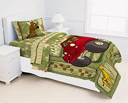 Scooby Doo Safari Bedding Collection