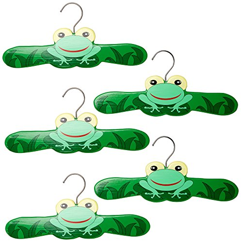 Kidorable Frog Toddler Hanger Set, Medium 5