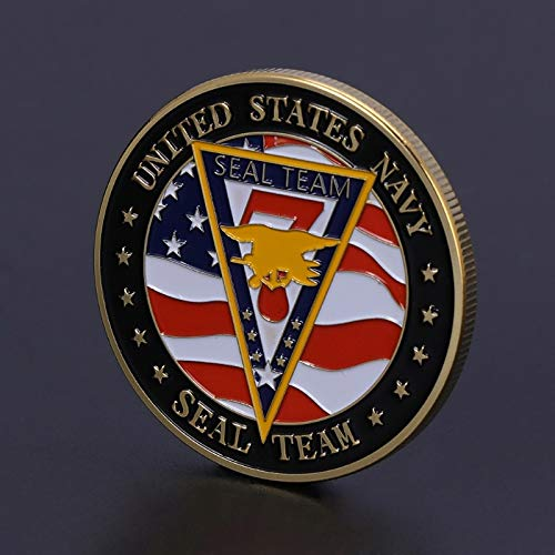 (Non-currency Coins - Commemorative Coin Us Navy Seals American Army Team Collection Art Gift Souvenir Fy - Army San Coin Non-currency Army Coin Tank Hero Mass Coin Coin Seal Pattern Patch T)