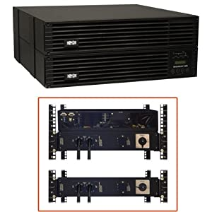 Tripp Lite SU6000RT4UTFHW Lite SmartOnline EZ 6000 VA Tower/Rack Mountable UPS - 6000 VA/5400 W - 6U Tower/Rack Mountable - 2 Minute - 4 x NEMA 5-15R - , 1 x NEMA L6-30R - , 8 x Hardwired - , NEMA 5-15/20R