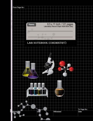 Lab Notebook Chemistry : Laboratory Record Graph Note Book Diary 8.5 x 11 Inch: Primary record of research, hypotheses, experiments and initial ... Specialist Scientific) (Volume 5)