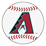 "Fan Mats ""arizona Diamondbacks Mlb ""baseball"" Round Floor Mat (29"")"""