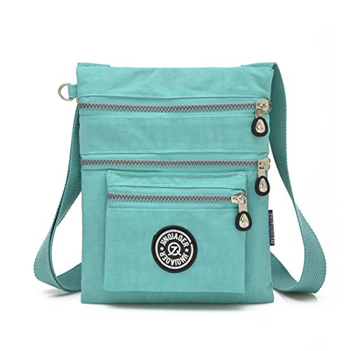 Bag Shoulder New Handbag (New Fashion Lady Handbag Shoulder Bag Tote Purse Nylon Women Messenger Hobo Bag (Green))