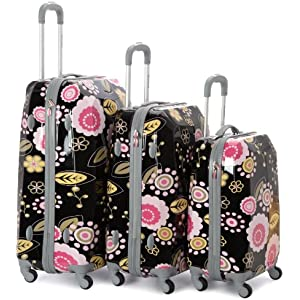 Patterned Hard Suitcases | Luggage And Suitcases