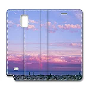 Fantasy Design Leather Case for Samsung Note 4 Morning Glow