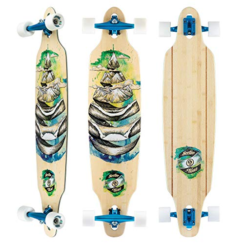 Sector 9 Lookout Dropthrough 42'' Longboard Complete (Droplet) by Sector 9 (Image #1)