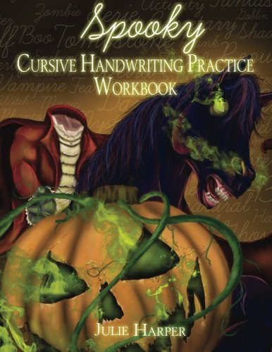 Spooky Cursive Handwriting Practice Workbook]()