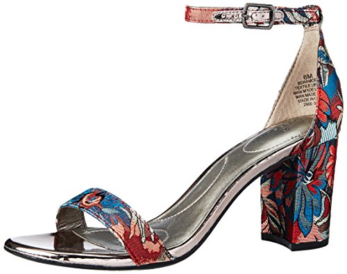 best prices cheap price Bandolino Women's Armory Heeled Sandal Blue/Multi with credit card online QbkQzzzjS