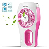 Portable Handheld USB Mini Misting Fan with Personal Cooling...