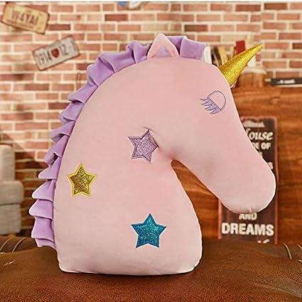 GOOGEE - Almohada de Unicornio de Peluche con Forma de U ...