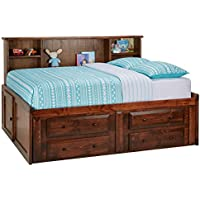 Catalina Chestnut Full Roomsaver Bed