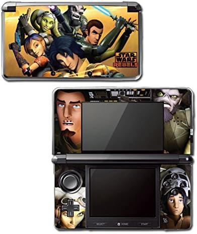 Star Wars Rebels Ghost Crew Ezra Jedi Video Game Vinyl Decal Skin Sticker Cover for Original Nintendo 3DS System