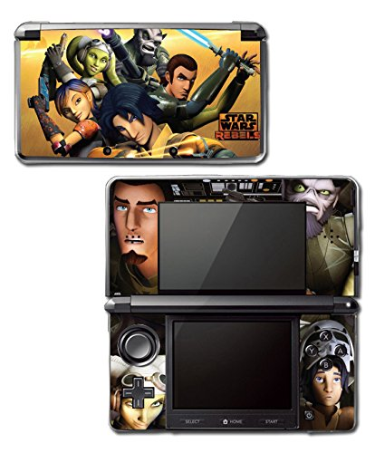 Star Wars Rebels Ghost Crew Ezra Jedi Video Game Vinyl Decal Skin Sticker Cover for Original Nintendo 3DS System