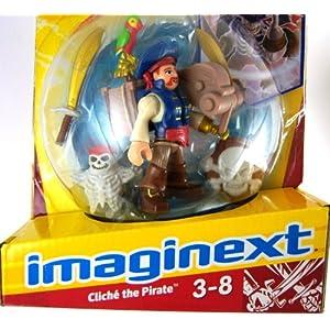 Fisher-Price Imaginext Cliche The Pirate