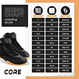 Core Wrestling Shoes - High Traction Combat Sport