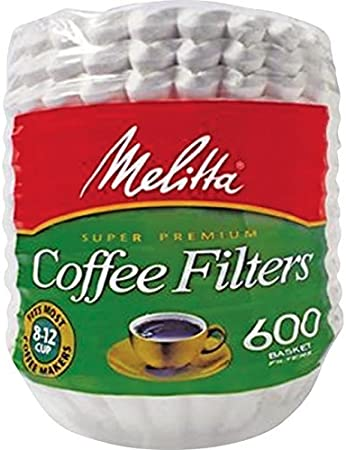 Nicole Home Collection 02083 Coffee Filters 300 Count White