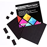 "Flexible Magnet Squares with Adhesive Backing:112 Squares(Each 08""x08""x0.08"")"