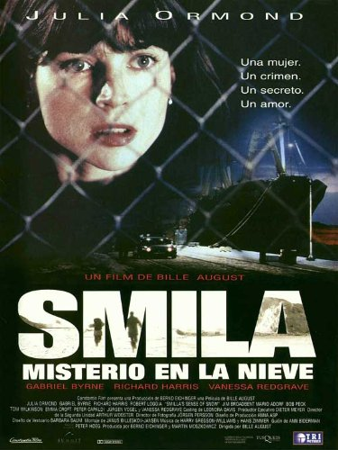 Smilla's Sense of Snow Movie Poster (27 x 40 Inches - 69cm x 102cm) (1996) Spanish -(Julia Ormond)(Gabriel Byrne)(Richard Harris)(Vanessa Redgrave)(Robert Loggia)(Jim Broadbent)