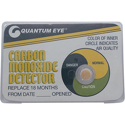 Quantum Eye Multi-Level Carbon Monoxide (CO) Detector - 18-Month