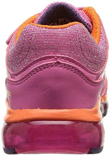 Geox J Android Girl - Zapatillas de deporte para niña FUCHSIA/ORANGE