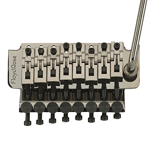 Floyd Rose 1000 Series 8-String Tremolo System: Black Nickel