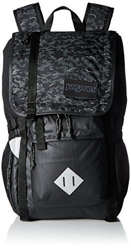 Jansport Hydration Pack - JanSport Unisex Hatchet Special Edition Black Dot Matrix Backpack