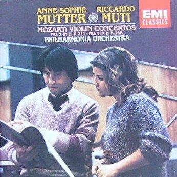 Mozart: Violin Concertos No. 2 in D, K.211 and No. 4 in D, K.218 (Mozart Violin Concerto No 2)