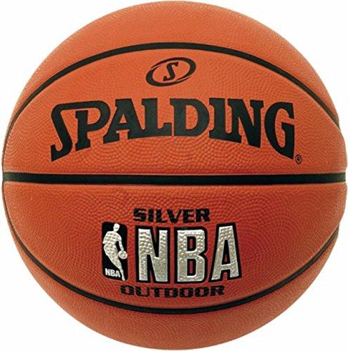 Nba Silver Spalding Basketball Size 7