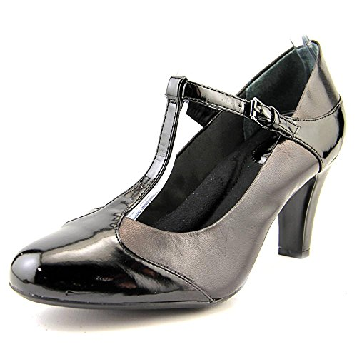 Giani Bernini Donna Vineza Round Toe Mary Janes, Nero