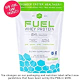 Fuel Whey Protein Powder (Coconut) by SFH | Great Tasting Grass Fed Whey | MCTs & Fiber for Energy | All Natural | Soy Free, Gluten Free, No RBST, No Artificial Flavors | 2lb Bag (896g) 28 Servings