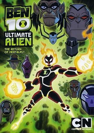Cartoon Network Classic Ben 10 Ultimate Alien The Return Of Heatblast V3