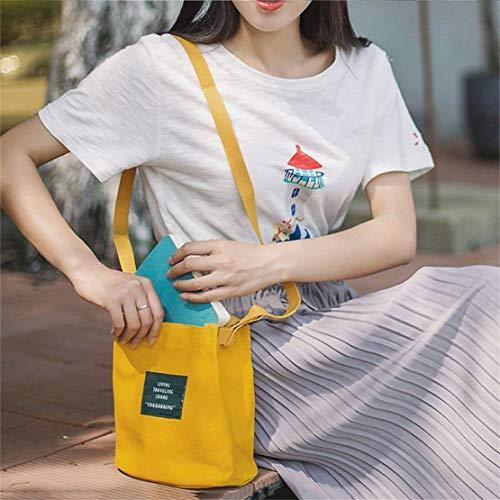 la la de grande coreano mujeres de al bolso la de bolso estilo del del de la aire mujer libre del lona manera Bolso Bolso Crossbody de las hombro mensajero de Bolso de de capacidad viaje 708HTn