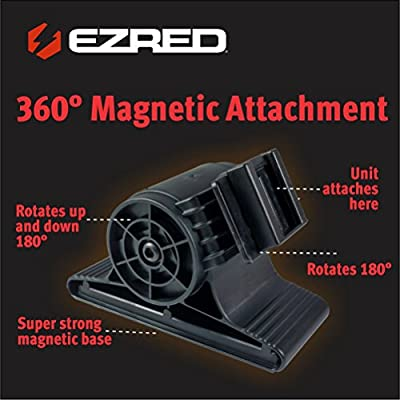 EZ Red XLM500-RD 500 Lumen Rechargeable Magnetic Work Light RED