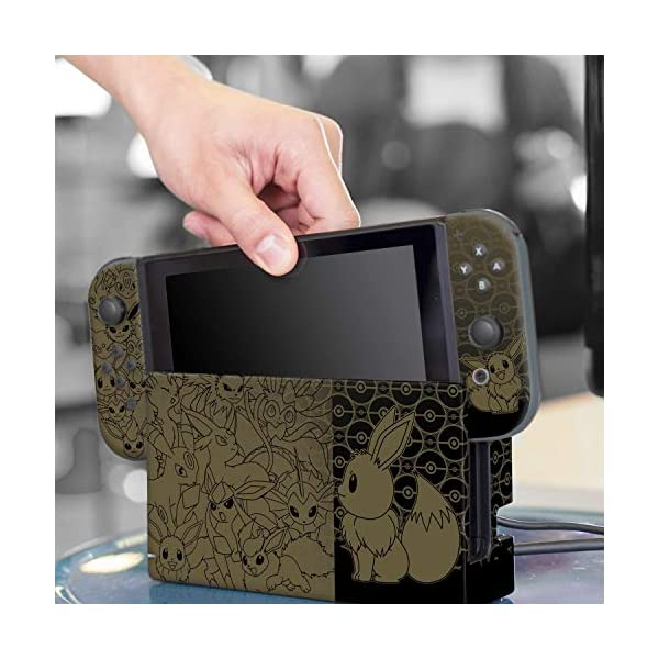 Controller Gear Nintendo Switch Skin & Screen Protector Set - Pokemon - Eevee Evolutions Set 1 - Nintendo Switch 8