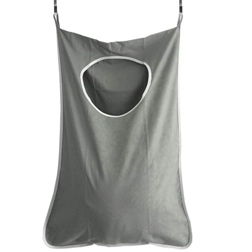 Da.Wa Vestiti sporchi di grande capacità tasca dopo casa borsa di archiviazione portatile e durevole borsa di panno di Oxford 76 cm * 51 cm * 5 cm bianco