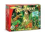 Melissa & Doug Rainforest Jumbo Jigsaw Floor Puzzle (100 pcs, over 4 feet tall)