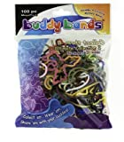 Buddy Bands - Ultimate Collection I - Mega Pack (100 bands, 52 shapes in one pack!) , Tie Dye, Glow in the Dark, and Glitter Bands (Compare to Silly Bandz, Zany Bands, Goofy Bands, Disney Bands, and Stretchy Shapes) Check Out All the Buddy Band Styles and Shapes!!