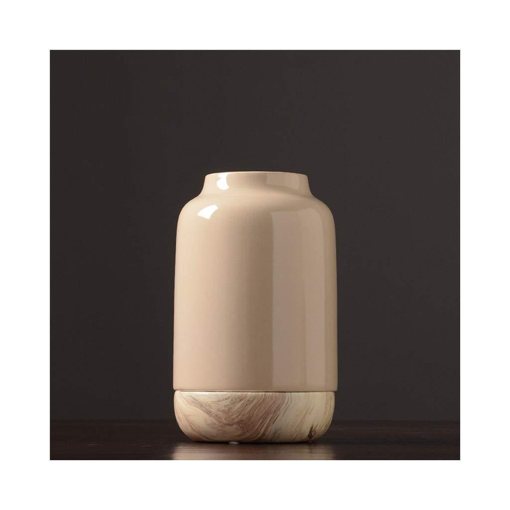 セラミック花瓶ダイニングテーブルリビングルーム花瓶クリエイティブな洗練されたミニマリストの家の装飾 (Size : 20cm*33cm) B07SRC6R1D  20cm*33cm