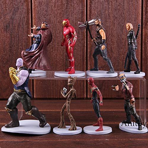 In Design; Symbol Of The Brand Avengers Infinity War Doctor Strange Action Figure Collection Model Toys 12cm Novel