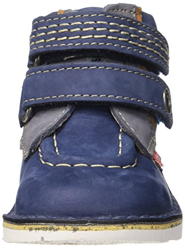 Kickers Baby Jungen Wapa Lauflernschuhe Blau (Marineblau / Blau)