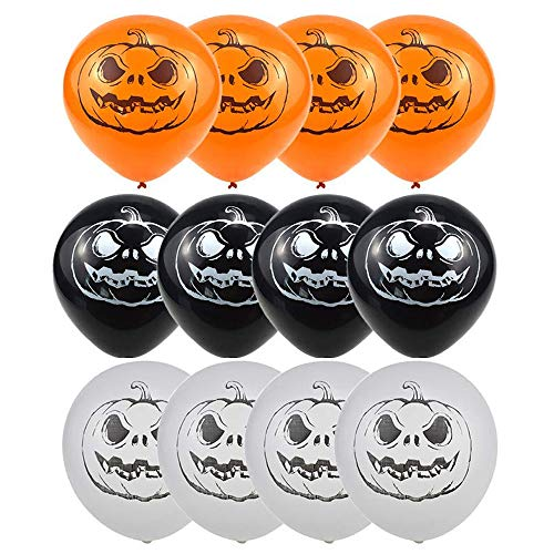 CHQHQ Halloween Balloon Pumpkin Head Pattern Balloons 14