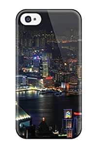 7060177K14528589 Awesome Defender Tpu Hard Case Cover For Iphone 4/4s- City