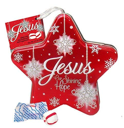 (Scripture Candy, Jesus Our Shining Hope Star Tin)