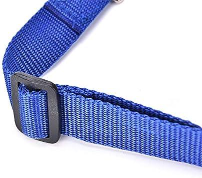 Kanggest Pet Car Seat Belt Adjustable Nylon Material Dog Cat Safety Leads with Metel Buckle for Dog Cat Restraint Harness Black